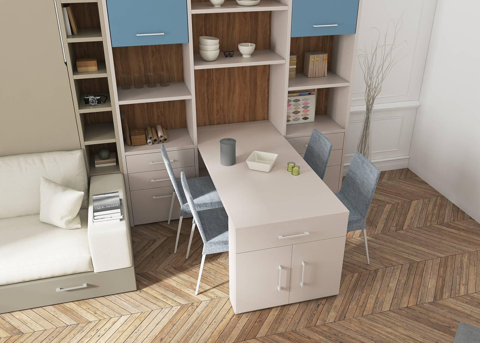 Table Murale Escamotable Menton Meuble Multifonction Pour Gagner